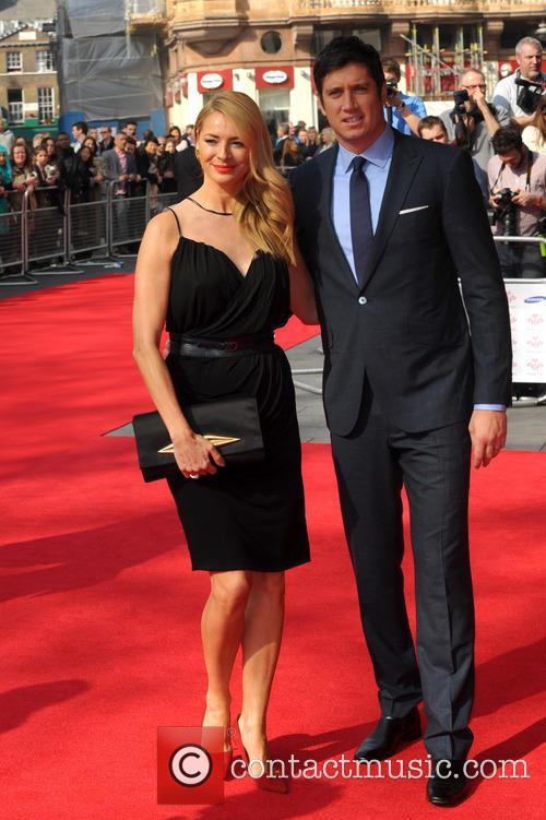 Tess Daly and Vernon Kaye 7