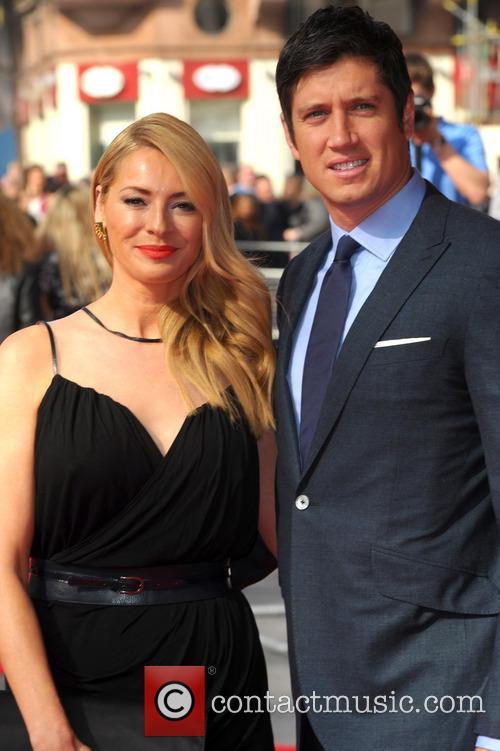 Tess Daly and Vernon Kaye 9