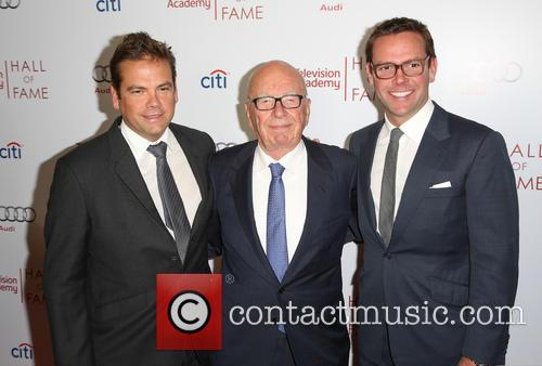 Rupert Murdoch, James Murdoch and Lachlan Murdoch 4