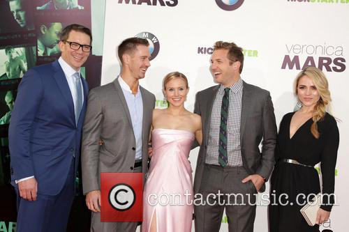 Rob Thomas, Jason Dohring, Kristen Bell, Ryan Hansen and Amanda Noret 1