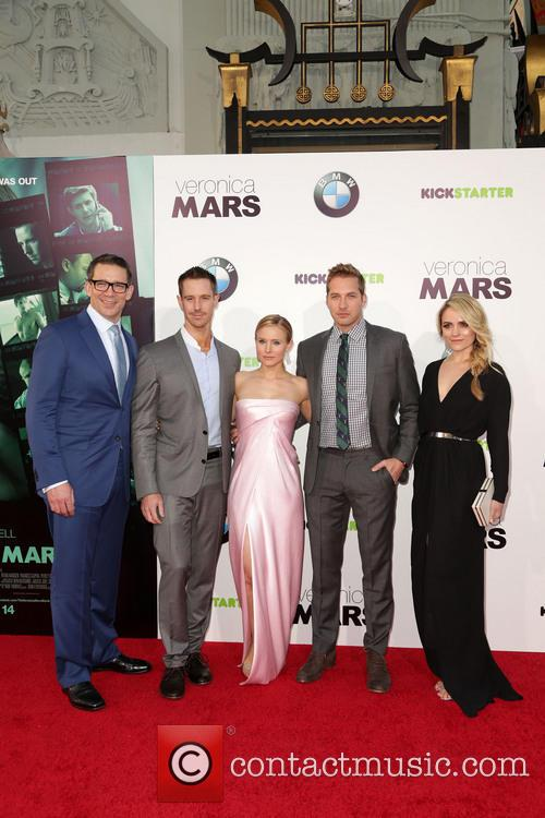 Rob Thomas, Jason Dohring, Kristen Bell, Ryan Hansen and Amanda Noret 4