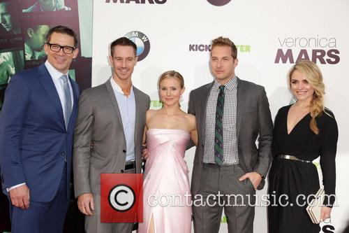 Rob Thomas, Jason Dohring, Kristen Bell, Ryan Hansen and Amanda Noret 5