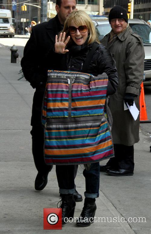 David Letterman and Malissa Rauch 3