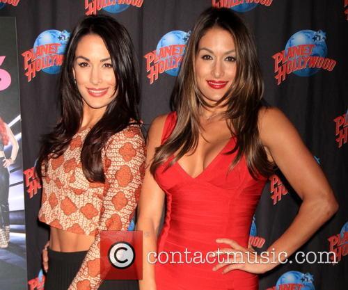Brie Bella and Nikki Bella 2