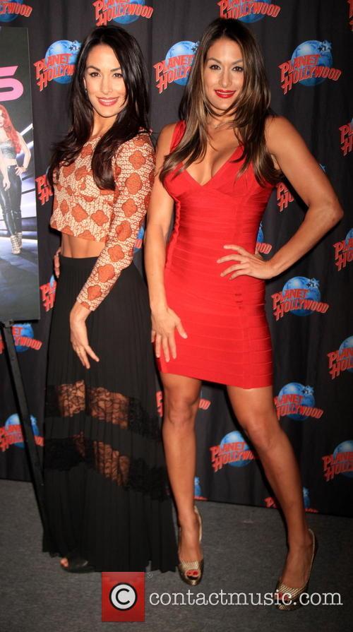 Brie Bella and Nikki Bella 1