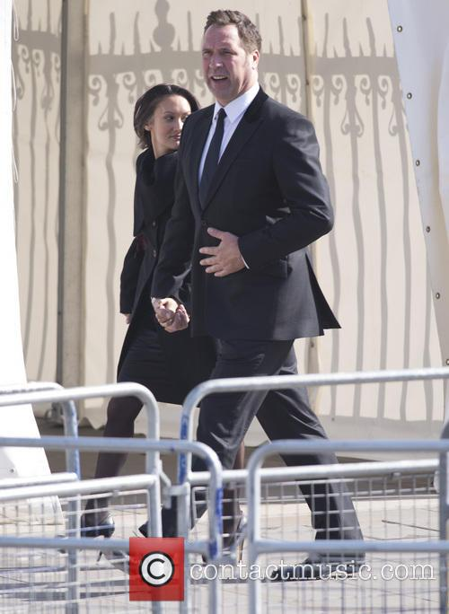 Royals and Celebrities attend David Frost Memorial