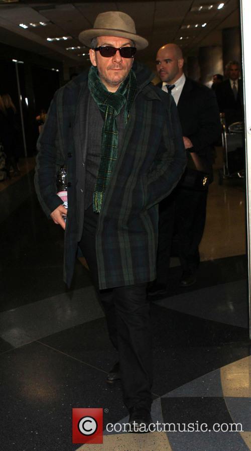Elvis Costello At LAX