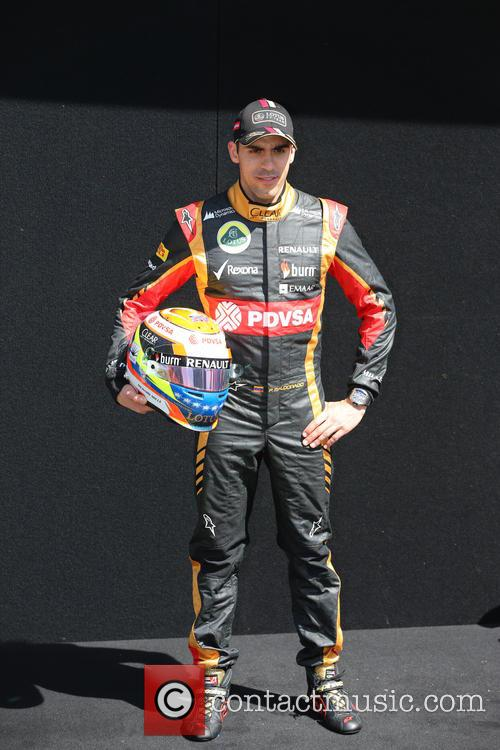 Formula One and Pastor Maldonado 8