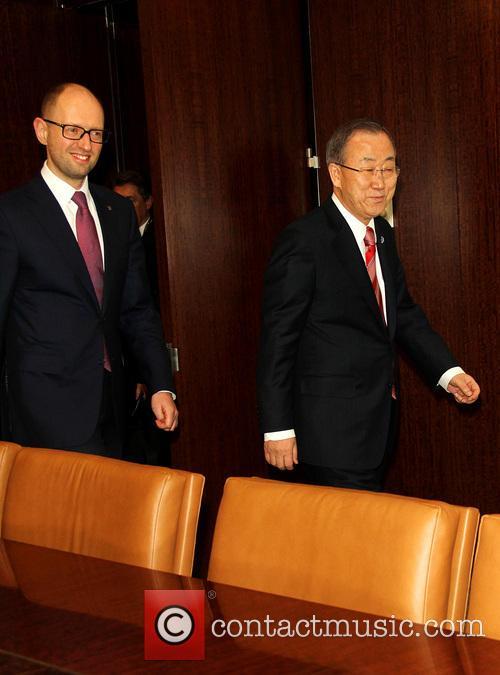 Ukrainian Prime Minister At United Nations