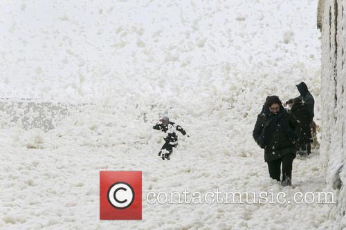 Ooh La La...France Is Hit By Sea Foam!
