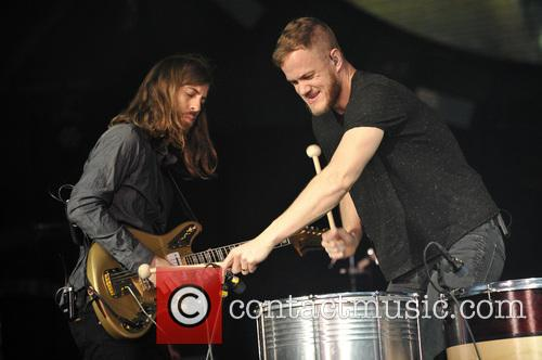 Imagine Dragons, Dan Reynolds and Wayne 'wing' Sermon 3
