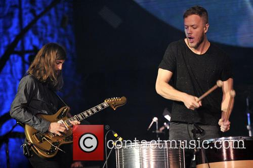 Imagine Dragons, Dan Reynolds and Wayne 'Wing' Sermon 4
