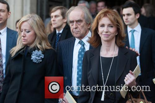 Gerald Scarfe and Jane Asher 1