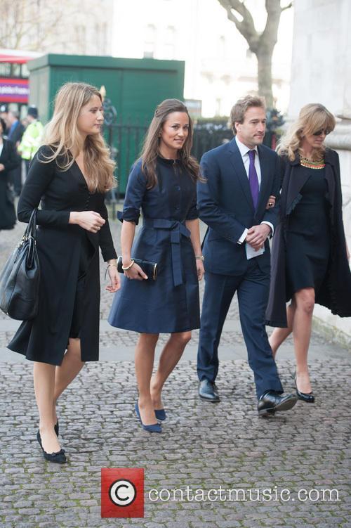 Pippa Middleton, Ben Fogle and Marina Fogle 1