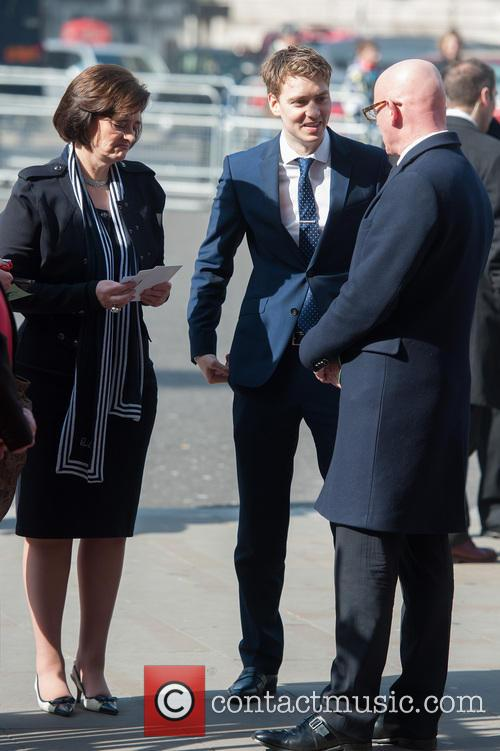 Cherie Blair and Euan Blair 2