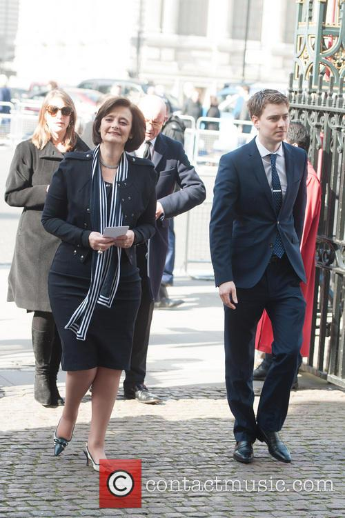 Cherie Blair and Euan Blair 1