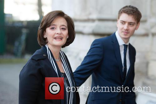 Cherie Blair and Euan Blair 4