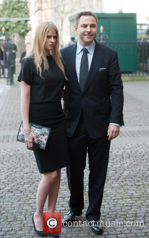 Lara Stone and David Walliams 2