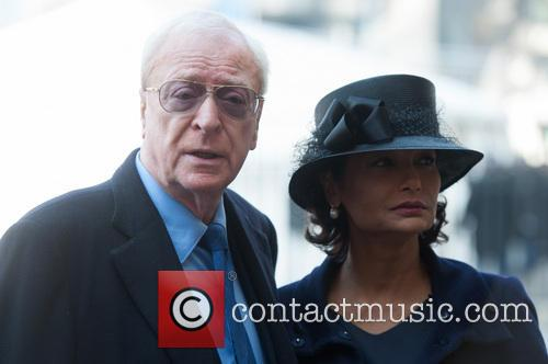 Sir Michael Caine and Shakira Caine 2