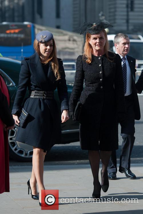 Princess Beatrice and Sarah Ferguson 4