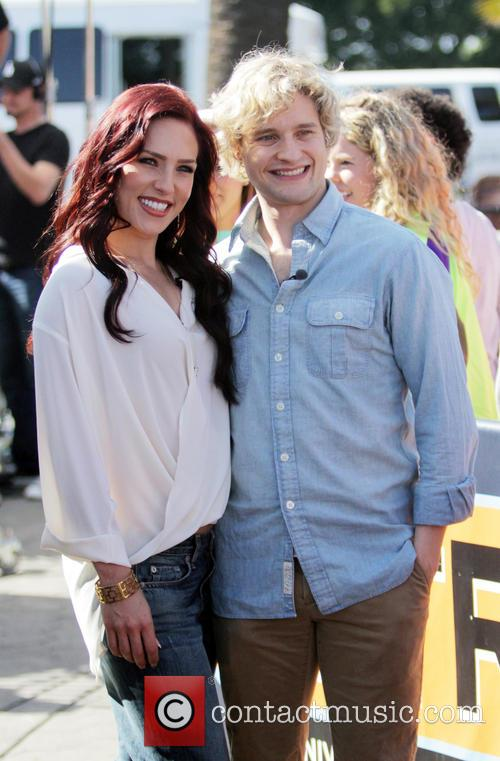Sharna Burgess and Charlie White 6
