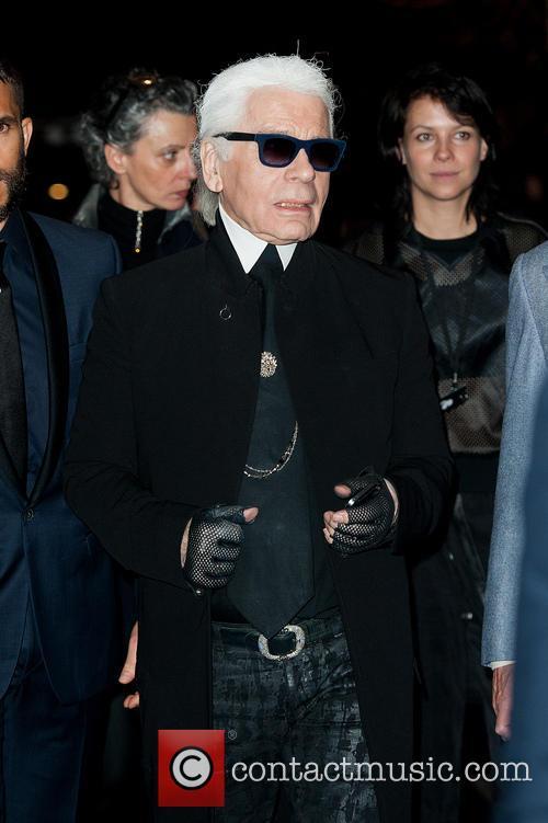 Karl Lagerfeld dinner at Harrods