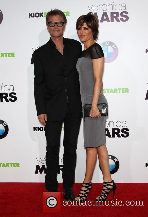 Harry Hamlin and Lisa Rinna 2