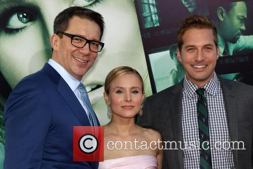Rob Thomas, Kristen Bell and Ryan Hansen 2