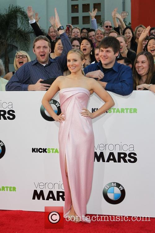 Veronica Mars Los Angeles premiere held at the TCL Chinese Theatre in Hollywood