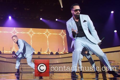 Backstreet Boys perform in Sweden
