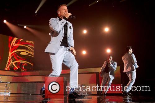 Backstreet Boys perform in Sweden