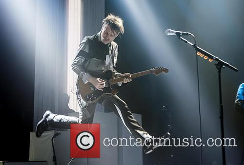 Alex Kapranos and Franz Ferdinand