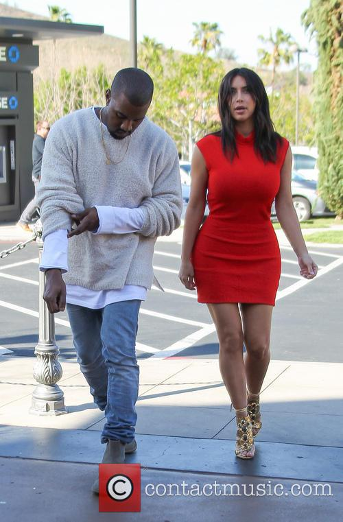 Kanye West and Kim Kardashian 11