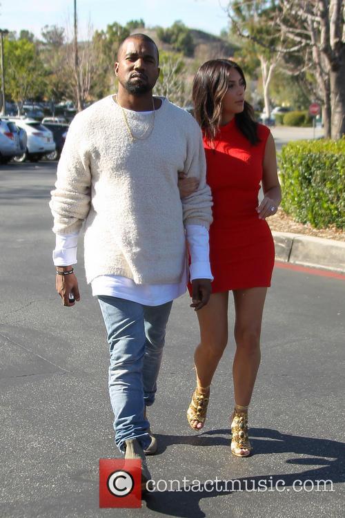 Kanye West and Kim Kardashian 14
