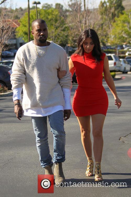 Kanye West and Kim Kardashian 15