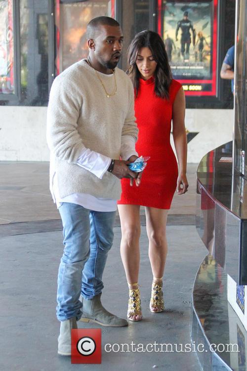 Kanye West and Kim Kardashian 17