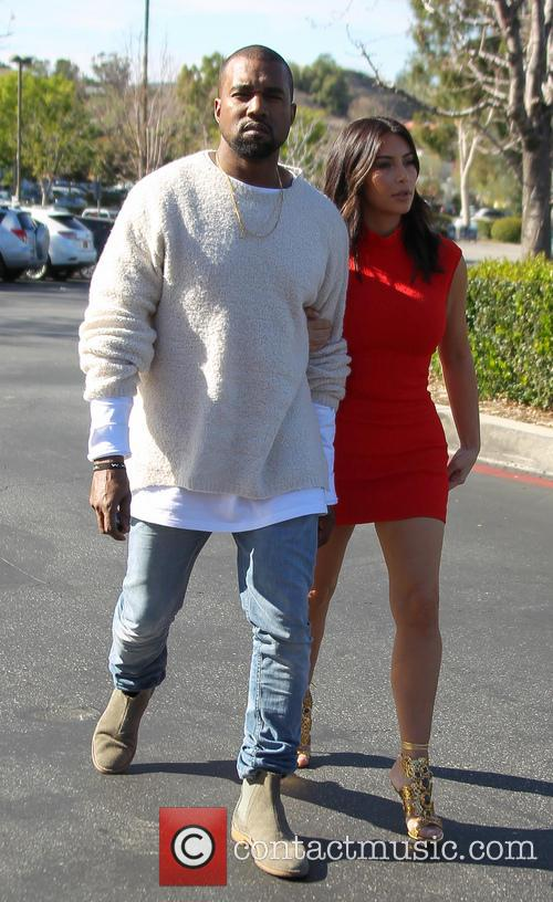 Kanye West and Kim Kardashian 21