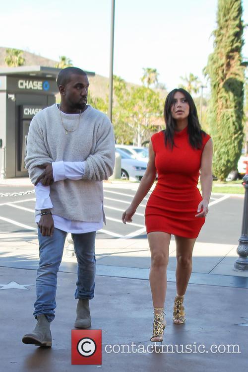 Kanye West and Kim Kardashian 22