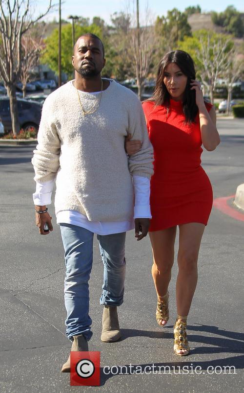 Kanye West and Kim Kardashian 24