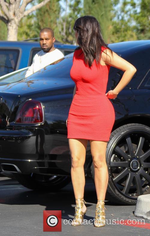 Kanye West and Kim Kardashian 25