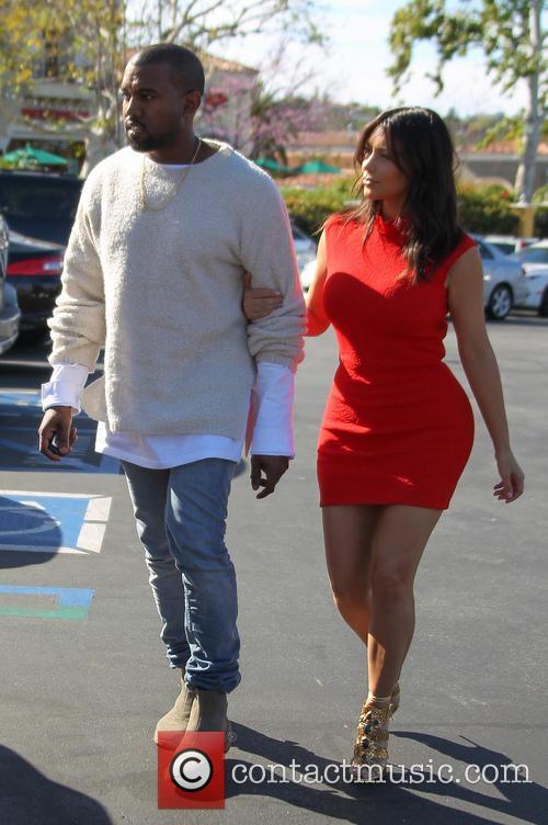 Kanye West and Kim Kardashian 27