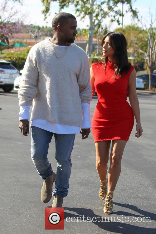 Kanye West and Kim Kardashian 28