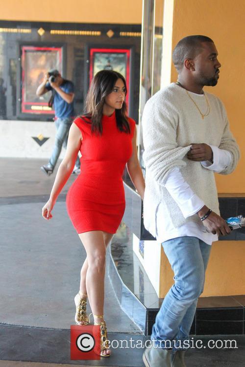 Kanye West and Kim Kardashian 32
