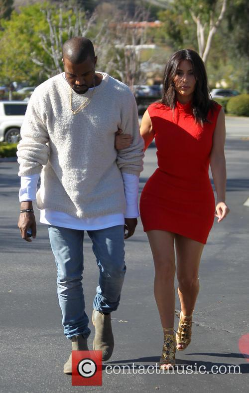 Kanye West and Kim Kardashian 33