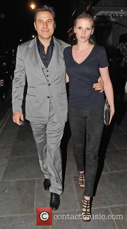 David Walliams and Lara Stone 2
