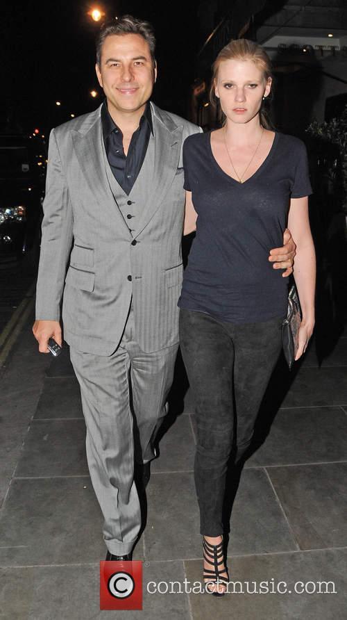 David Walliams and Lara Stone 3