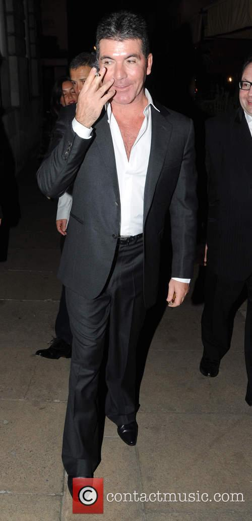 simon cowell celebrities leave lou lous club 4111032