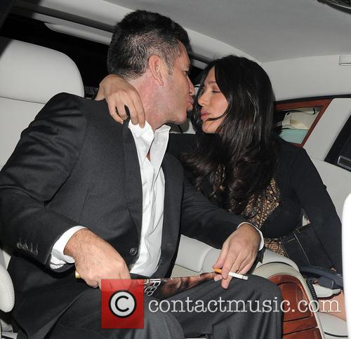 Simon Cowell and Lauren Silverman 4