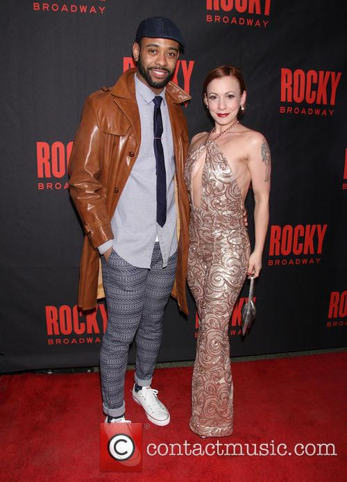 Opening Night After Party for Broadway's Rocky -...