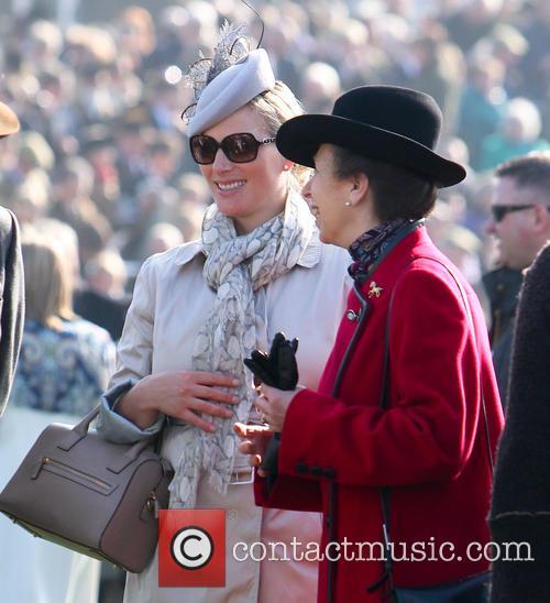 Princess Anne, Zara Tindall